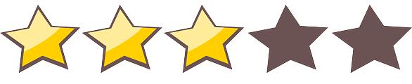 3 Sternebewertung