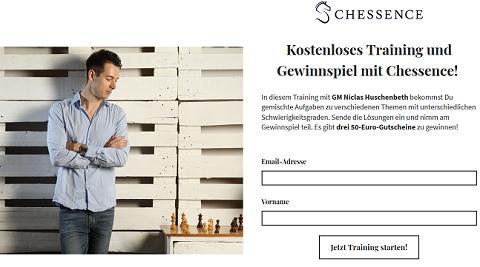 Trainingsaufgaben Gewinnchance 3 Gutscheine chessence.de